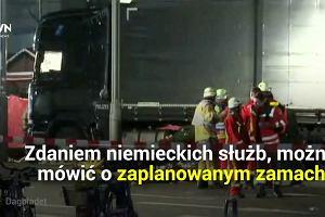 Zamach w Berlinie. Rozpędzona ciężarówka wjechała w tłum. Nie żyje 12 osób, 48 jest rannych