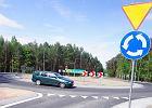 Nowe rondo za Jędrzychowem, na krzyżówce Zielona Góra - Kiełpin