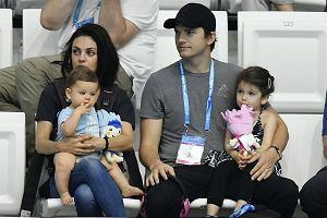 7Mila Kunis i Ashton Kutcher na mistrzostwach w p?ywaniu