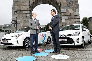 Toyota YUKO | W Dublinie rusza system innowacyjny system car-sharing