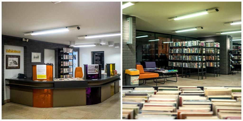 Wnętrze sieradzkiej biblioteki (fot. Filip Springer)
