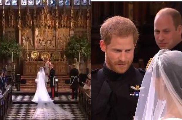 Tak Wyglądał Książęcy ślub Harry Nie Mógł Oderwać Wzroku Od Meghan