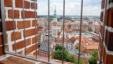 Widok z wieży Zamku Przemysła