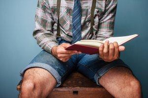 TOP 10 męskich książek XXI w., książki, po robocie