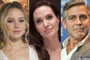 Jennifer Lawrence, Angelina Jolie, George Clooney