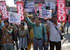 Indie po gwa�cie na sze�ciolatce: protesty i bojkot szko�y