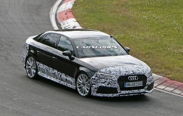 Prototypy | Audi RS3 Sedan szaleje na Nurburgringu