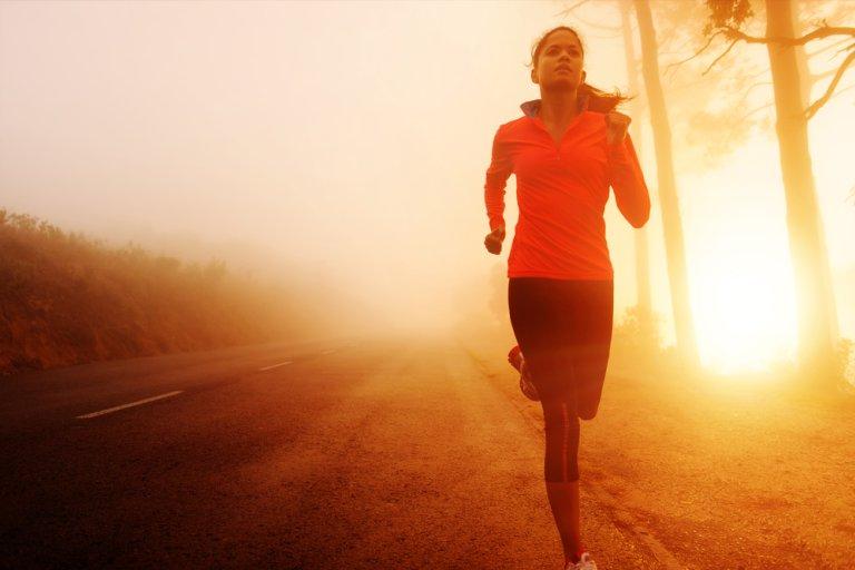 Вечерняя пробежка для похудения