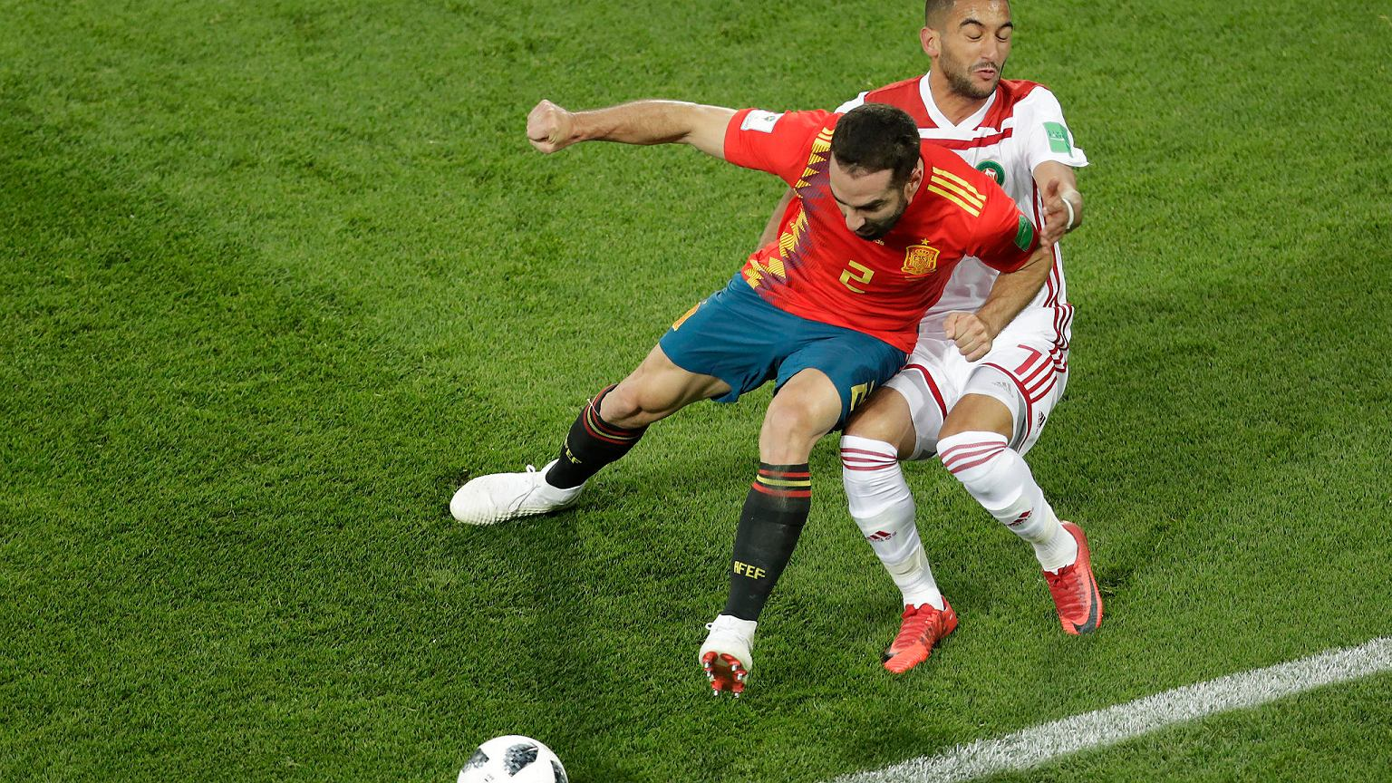 ed821ea4b Mistrzostwa świata w piłce nożnej. Hiszpania - Maroko. Sensacja na  zakończenie rywalizacji w grupie B - zdjęcie nr 2 MŚ - Mundial