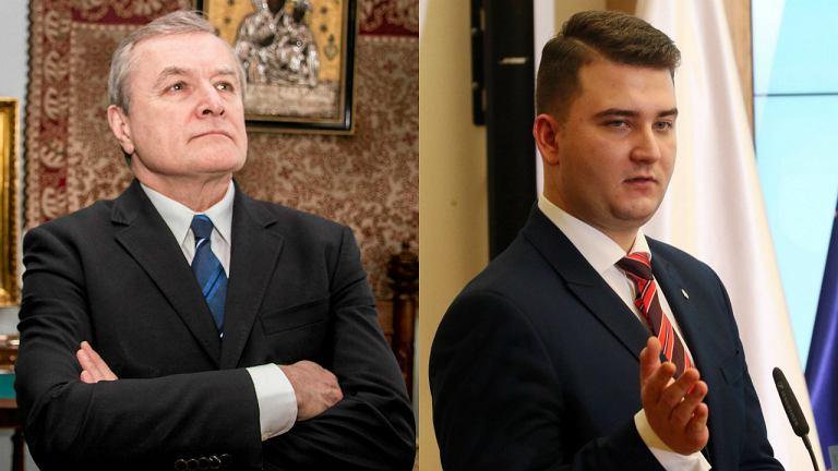 Piotr Gliński / Bartłomiej Misiewicz