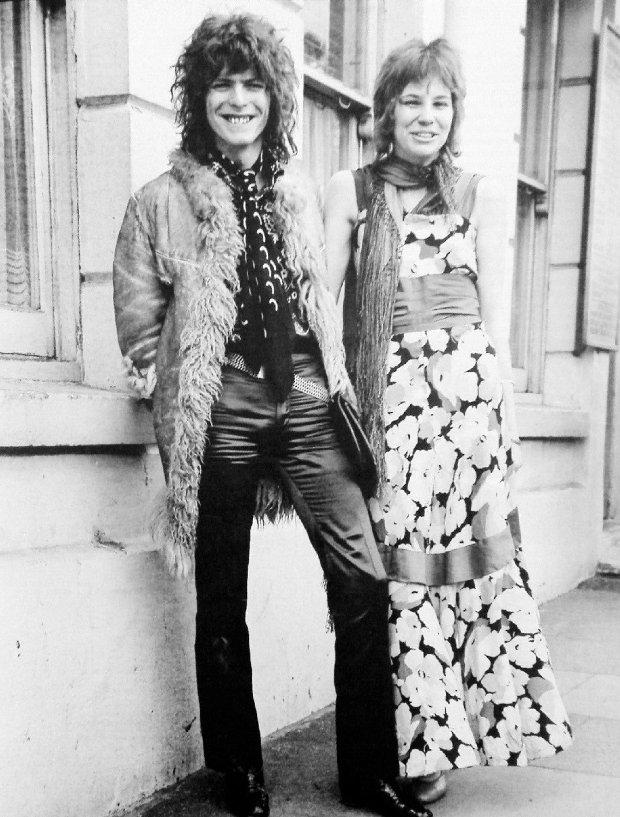 David i Angie Bowie