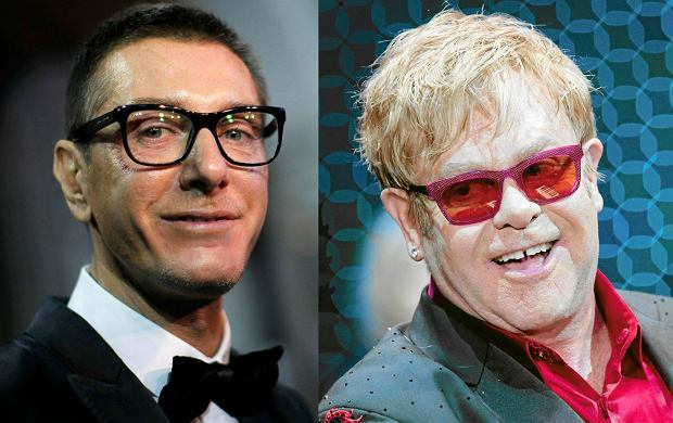 """Wymiana ognia trwa. Po medialnej burzy o """"syntetyczne dzieci z in vitro"""", Stefano Gabbana broni się atakując """"faszystę"""" Eltona Johna."""