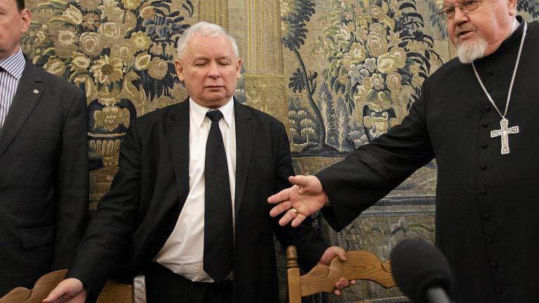 Spotkanie Jarosława Kaczyńskiego z księdzem Antonim Dydyczem