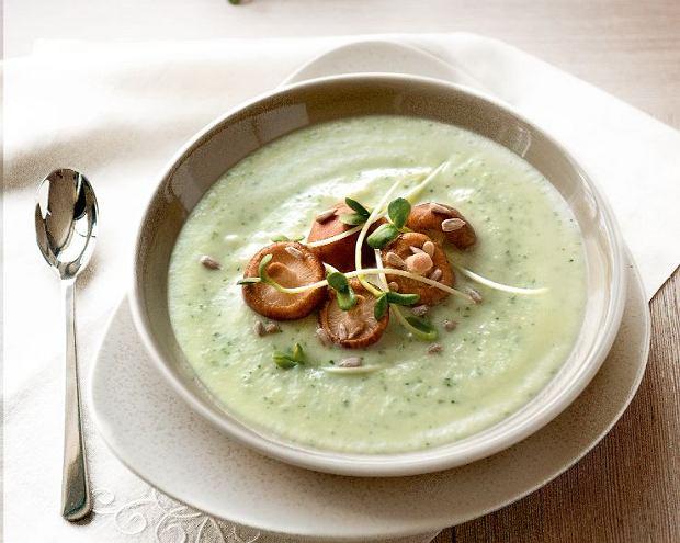 Pietruszkowa zupa krem z shitake