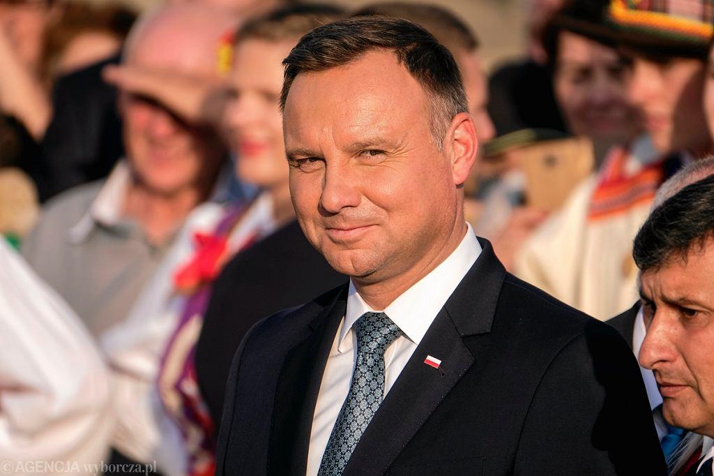 Prezydent Andrzej Duda odniósł się do uchwały krakowskich sędziów