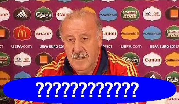 Trener Hiszpanii Vincent del Bosque przedstawiony został w TVN24 jako trener Włochów