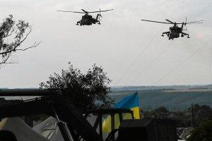 Ukrai�skie lotnictwo w stanie gotowo�ci bojowej. Reakcja na ostrza� wyrzutniami Grad od strony rosyjskiej granicy