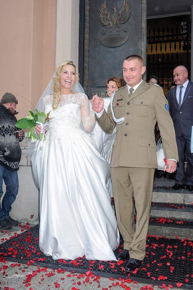 Sylwia Gruchała, mąż, Marek Bączek