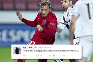 """Liga Europejska. Twitter szydzi z nudnego spotkania. """"Po dw�ch latach meczu Midtjylland wychodzi na prowadzenie"""""""