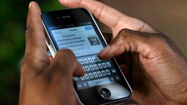 Aplikacja Twitter w iPhonie