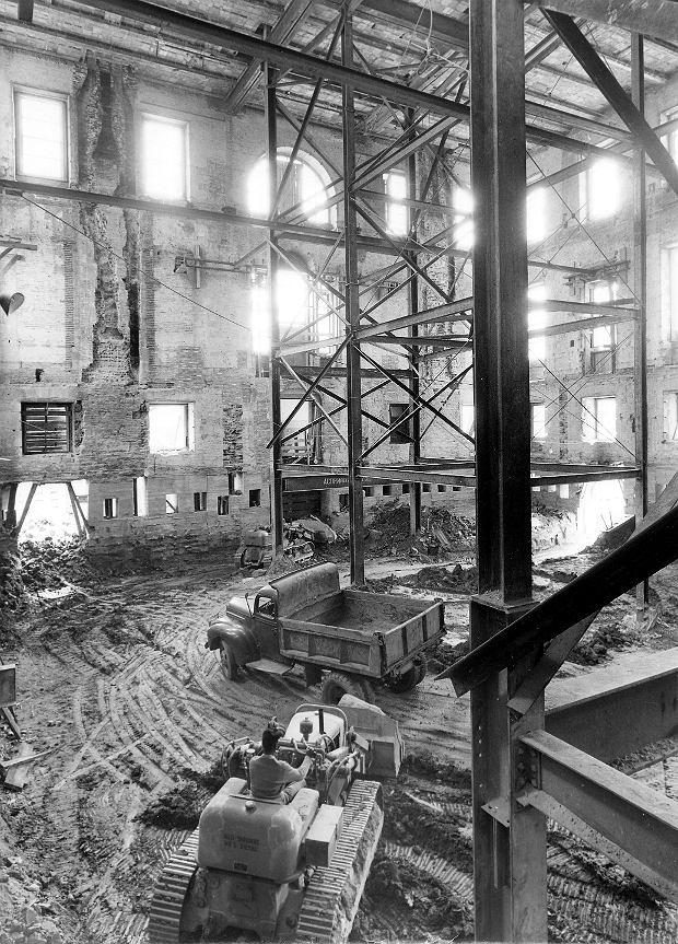 Rekonstrukcja skrzydła Białego Domu za prezydenta Trumana (Truman reconstruction, 1949-1952)