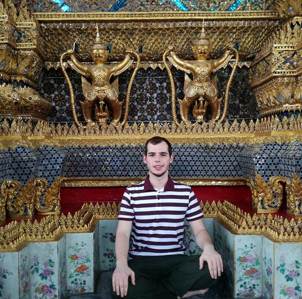 Daniel Kawczyński w Tajlandii