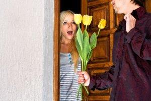 Savoir vivre: kwiaty na randce