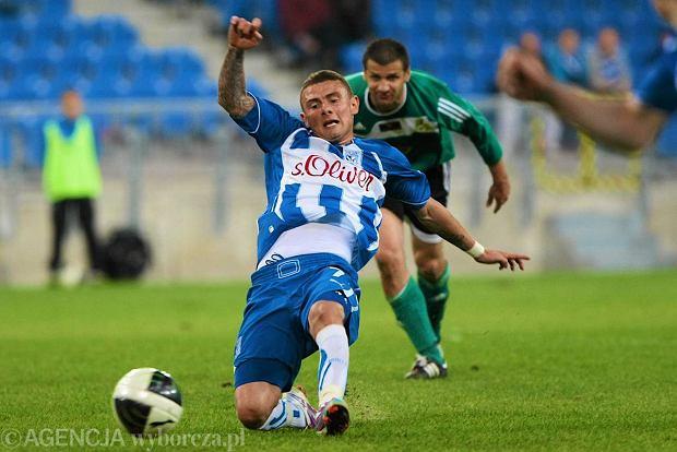 Jakub Wilk w barwach Lecha Poznań