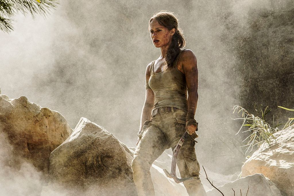 Kadr z filmu 'Tomb Raider' / Forum Film Poland