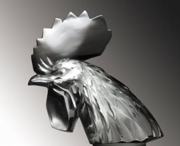 Figurka Koguta Rene Lalique