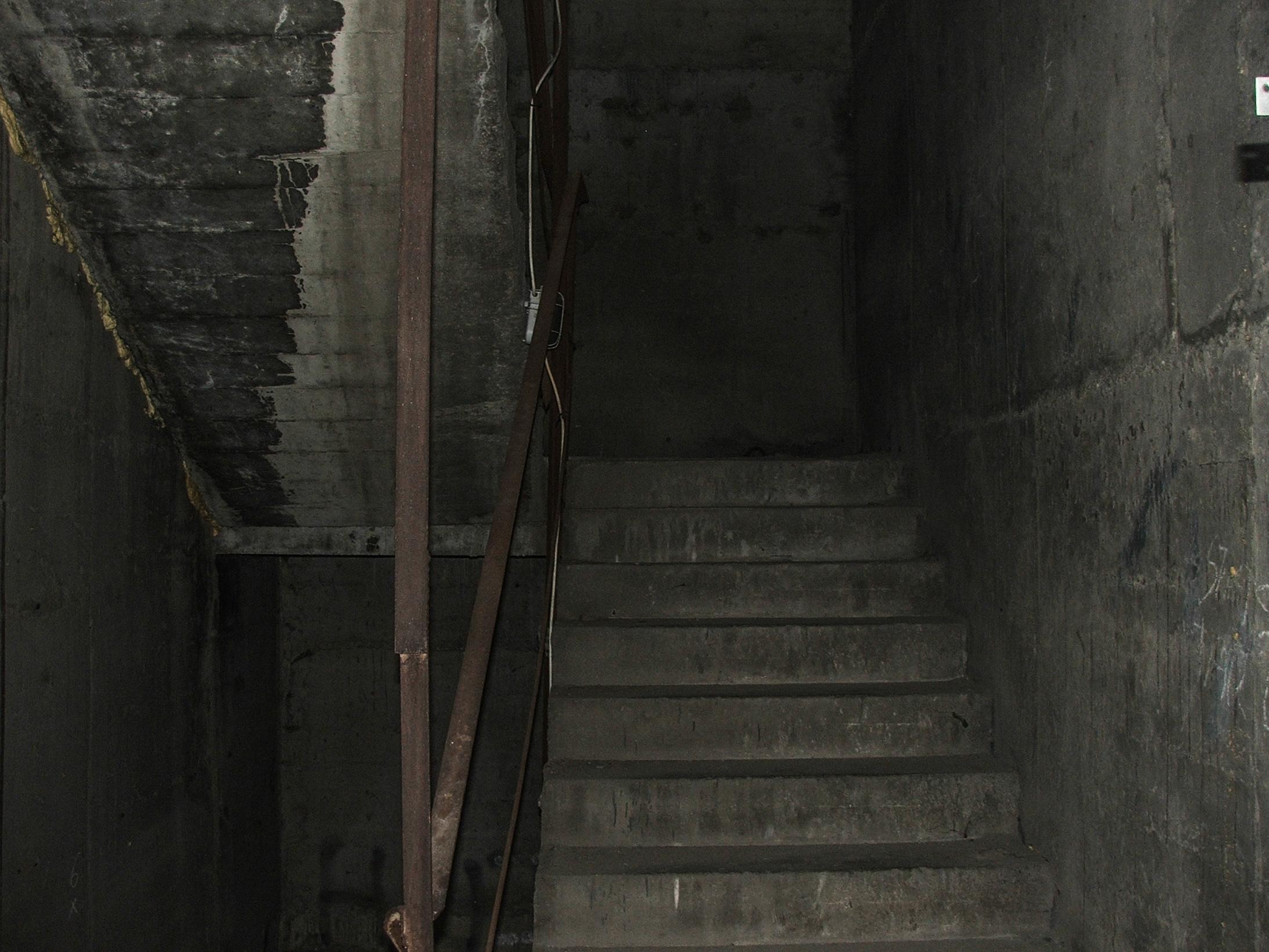 Klatka schodowa (fot. Damian Dziura)