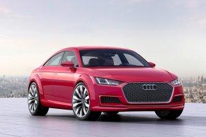 Salon Pary� 2014 | Audi TT Sportbaack concept | Mno�enie byt�w