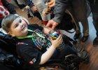 Wielki rekord ma�ego wolontariusza WO�P! Gratulacje dla �ukasza