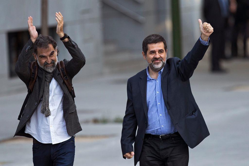 Jordi Sanchez i Jordi Cuixart to liderzy katalońskich ruchów niepodległościowych