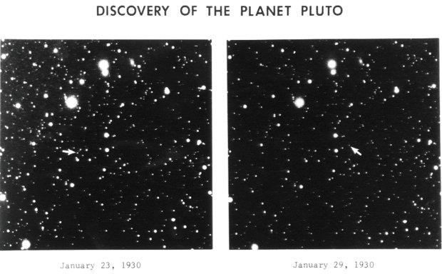 Pierwsze zdjęcia Plutona z 1930 roku