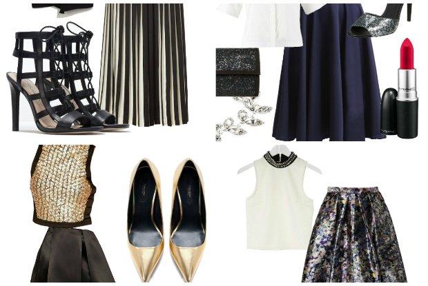 Zamiast sukienki na studni�wk�: 10 propozycji komplet�w sp�dnica i top