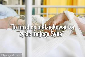 """""""Uratowane życie. Jedno z wielu. Dla nas najważniejsze"""" - LIST nadesłany w ramach akcji Szpital Przyjazny Rodzicom"""