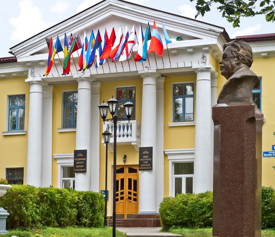 Główna siedziba Zjednoczonego Instytutu Badań Jądrowych w Dubnej