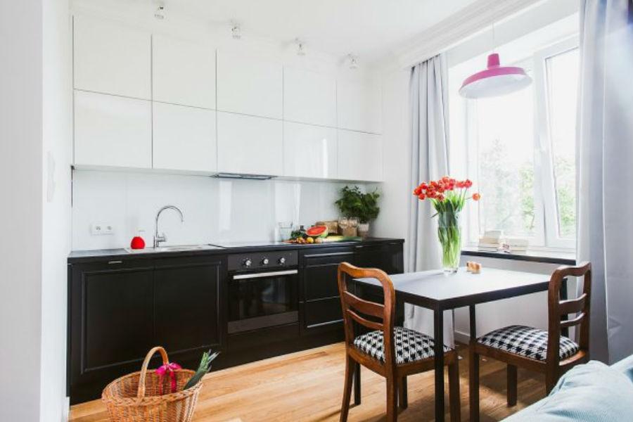 Stylowe mieszkanie na Woli -> Kuchnia Angielska Jakie Dodatki