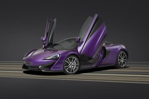 Wyj�tkowy McLaren 570S w Pebble Beach