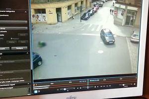 Gliwice: Policja umieszcza nagranie z wypadku ku przestrodze rowerzystom i  kierowcom