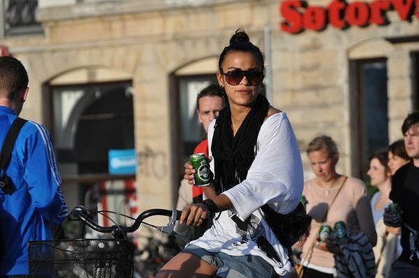Coraz trudniej mi zobaczy� przest�pc� w rowerzy�cie pij�cym ma�e piwo - pisze na blogu Roweroraffi
