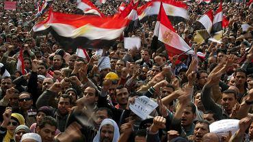 Kair, 8 lutego 2011 r. Pięć lat temu na placu Tahrir w stolicy Egiptu tysiące ludzi demonstrowały przeciw rządom prezydenta Mubaraka. Obecne władze dbają, by nie doszło do powtórki rewolucji