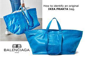 83acaf12bfe40 Frakta z IKEA czy niebieska torba Balenciaga?