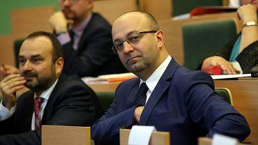 Łukasz Piebiak, wiceminister sprawiedliwości.