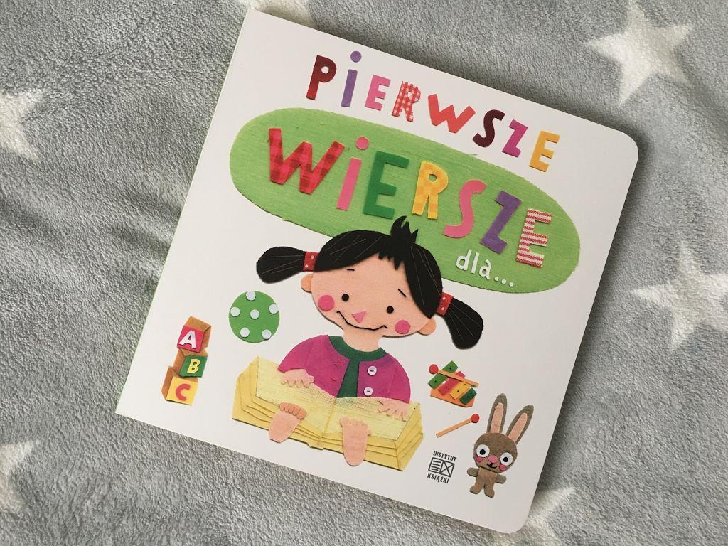 'Pierwsze wiersze dla...', ilustracje Ewa Kozyra-Pawlak i Paweł Pawlak, Instytut Książki