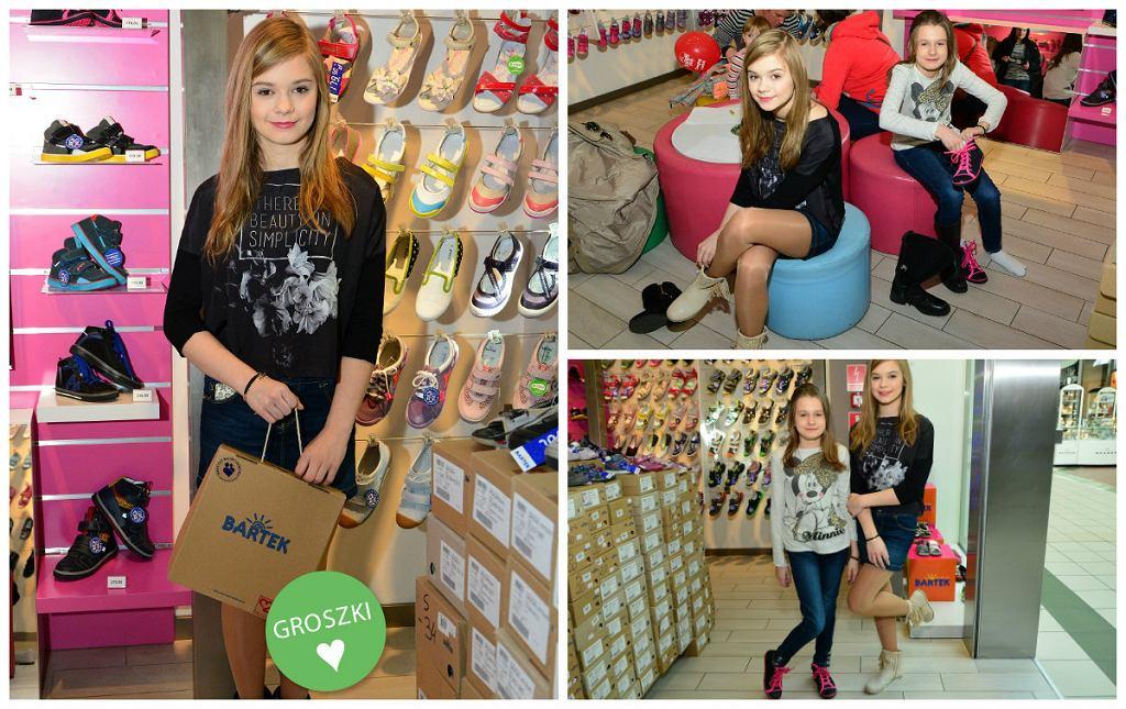 Julka Wróblewska w sklepie Bartek