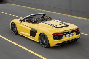 Salon Nowy Jork 2016 | Audi R8 Spyder V10 | 540 KM bez dachu