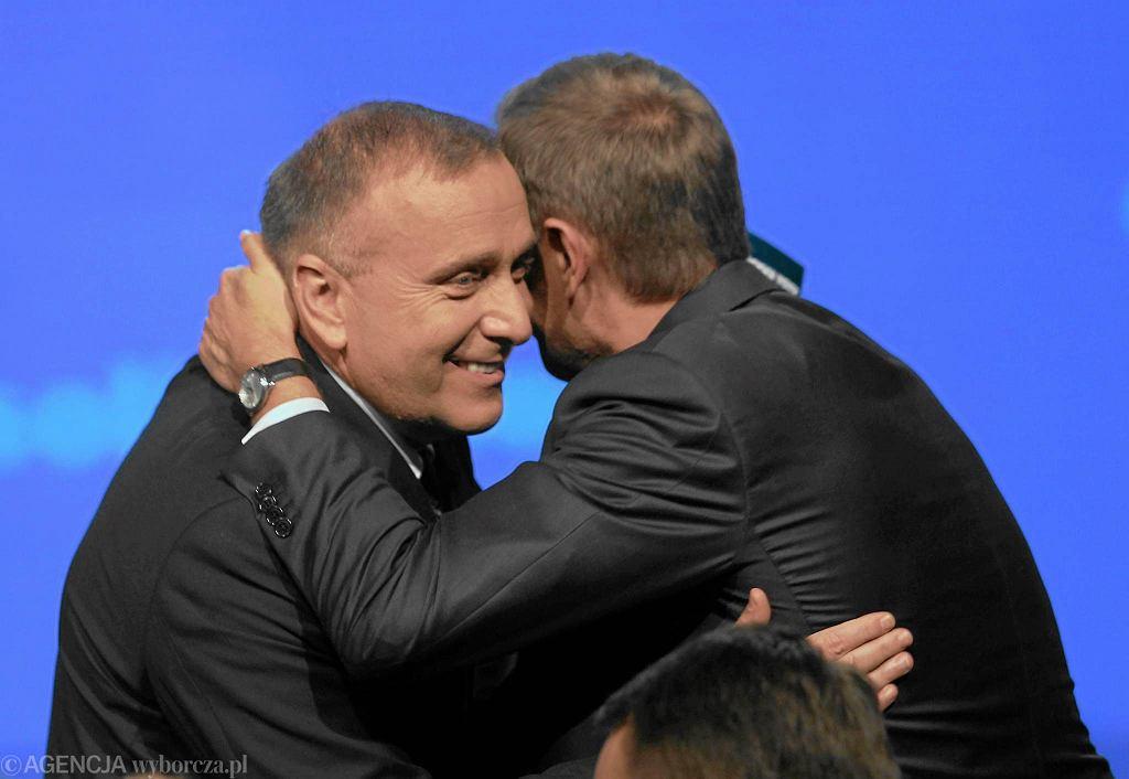 Grzegorz Schetyna i Donald Tusk w 2011 r.