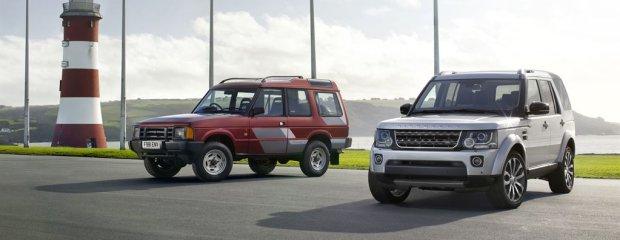 25 lat Land Rovera Discovery
